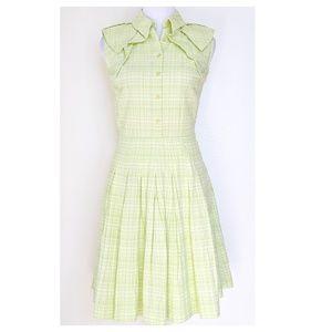 ANTONIO MELANI Seersucker Tea Dress 2